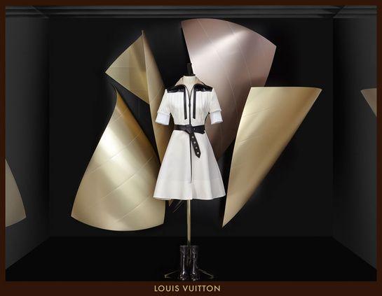 Les vitrines Louis Vuitton imaginées par Frank Gehry pour la collection automne-hiver 2014-2015