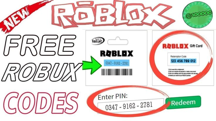 Free roblox codes free roblox gift card code 2019