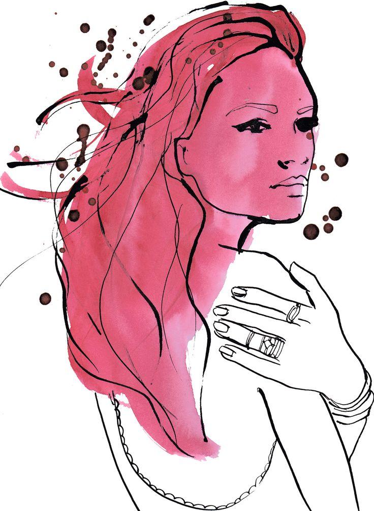 portrait ink