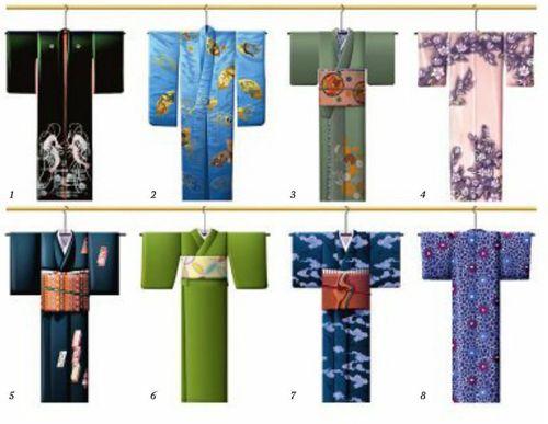 Японское кимоно - часть вторая
