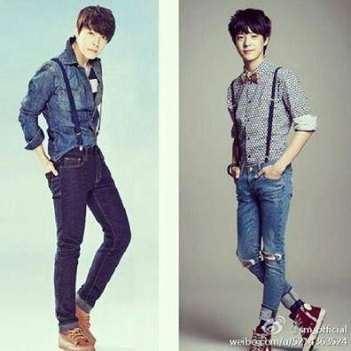 #JENO SM rookies and #donghae Suju!