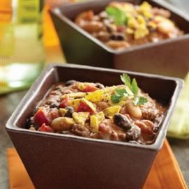 Chili- I usually eat vegetarian chili and dip a peanut butter ...