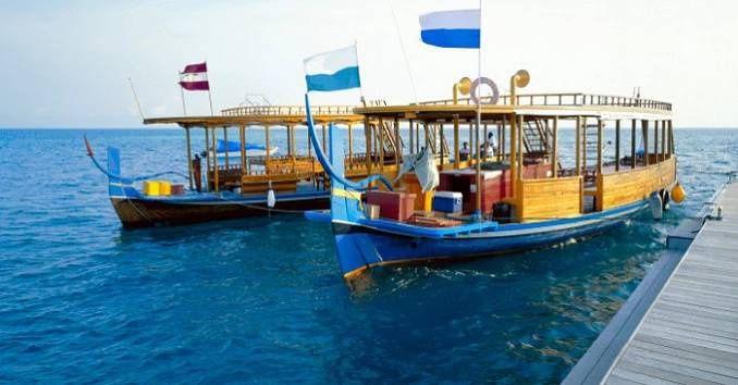 Výletní lodě na šnorchlování a potápění