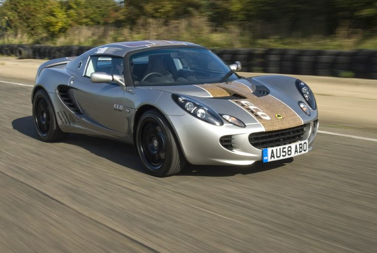 Beautiful Eco-Elise from hemp plastic. As if this car couldn't get any more beautiful
