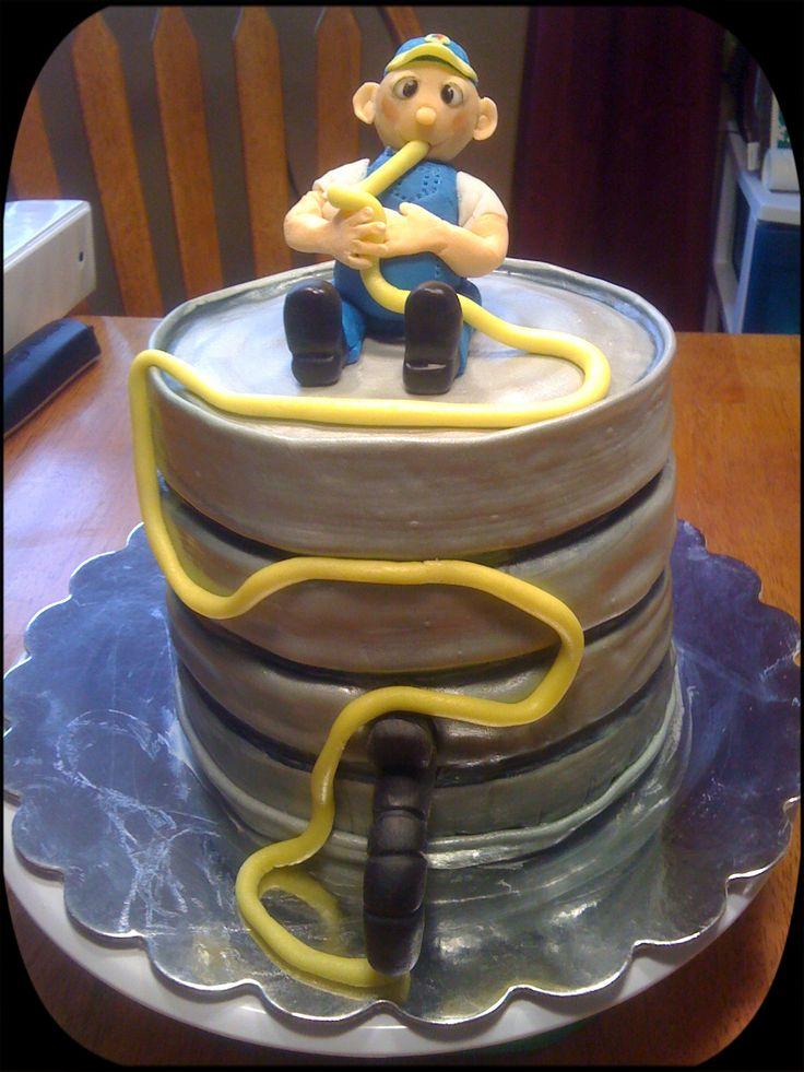 Beer Keg Cake Stallcop Creations Birthday Pinterest