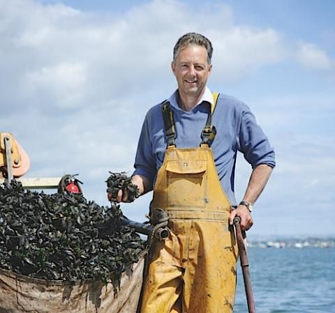 Food hero: meet mussel man Miles Blood Smyth | Countryfile.com
