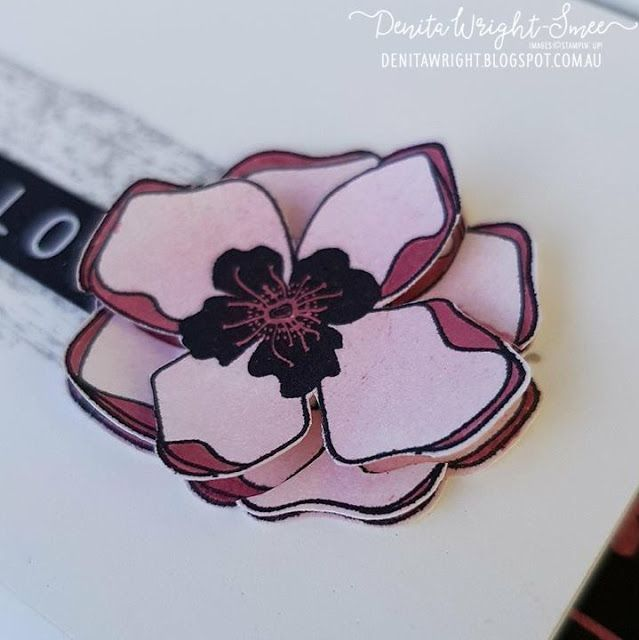 Denita Wright | Inspire.Create.Stamping Challenge - Colour Challenge