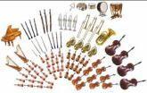 Blaas en snaar instrumenten