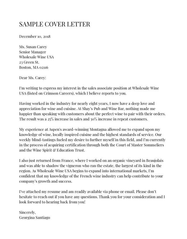 Whoops Resume Cover Letter Examples Cover Letter For Resume Perfect Cover Letter