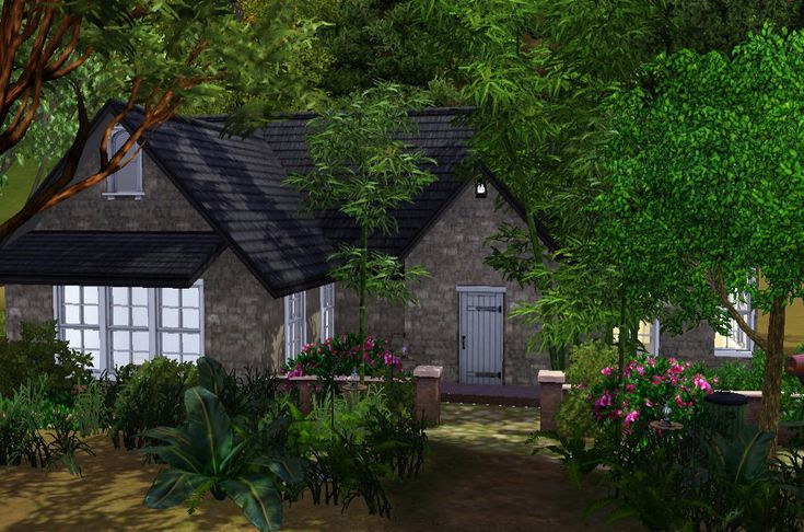 Totally Sims 3 Updates Cottage Edward Bella Breaking Dawn Part 2 Twilight House Cottage Sims 4 Houses
