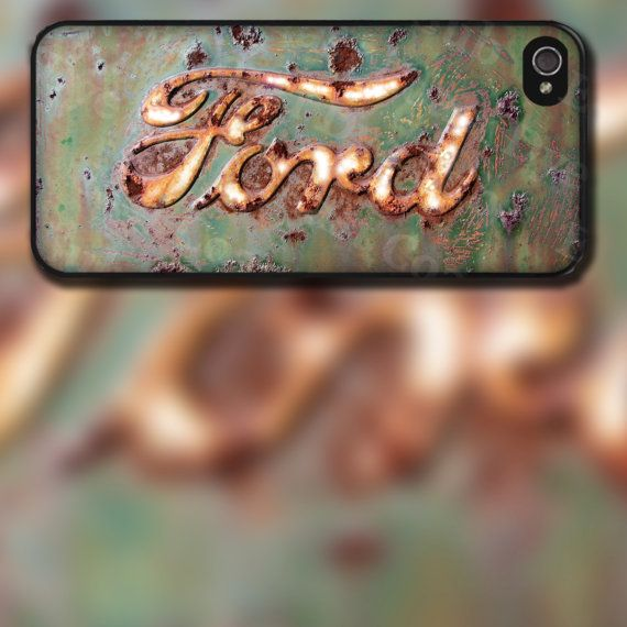 Rusted Ford Emblem Image iPhone 4/4s Or iPhone by EastCoastDyeSub, $16.00