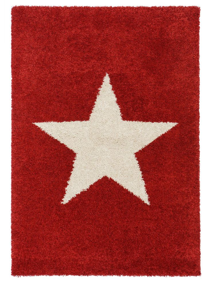 Nicht nur für Stars und Sternchen: der Shaggy-Teppich Graphic Star bringen Glanz und Glamour in jeden Wohnraum