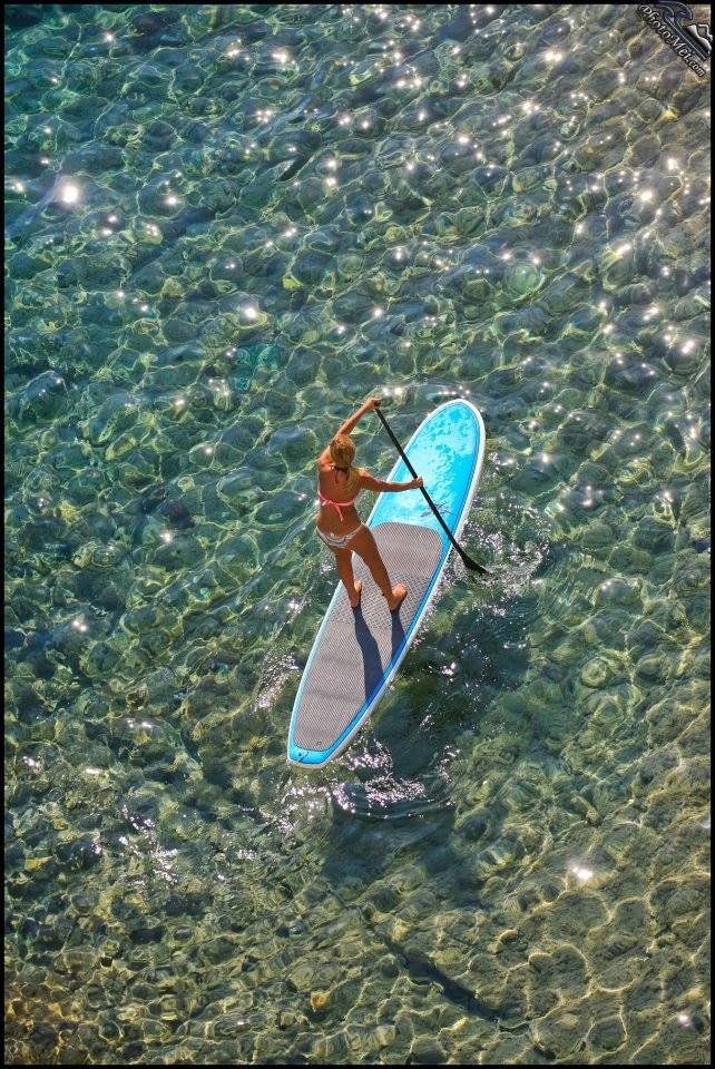 Med paddle. Courtesy Hobie Stand Up Paddleboards www.standuppaddlemagazine.com