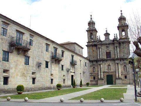 Monasterio de San Xoan de Poio . Galicia.