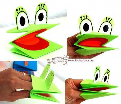 Marionetas de cartulina para manos (3)                                                                                                                                                     Más