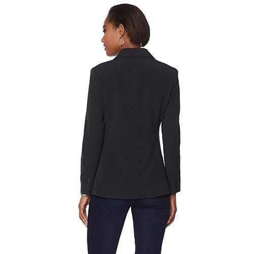 how to wear black boyfriend blazer