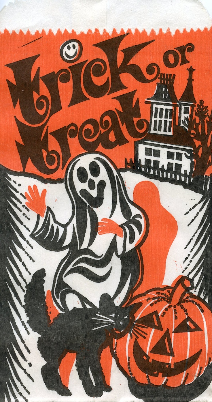 Vintage halloween paper decorations - Find This Pin And More On Vintage Halloween Decorations