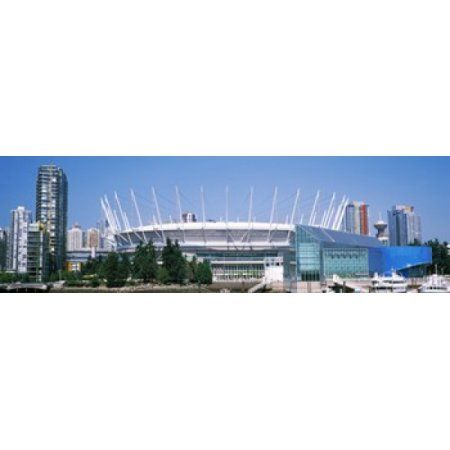 Stadium at the waterfront BC Place Stadium Vancouver British Columbia Canada Canvas Art - Panoramic Images (15 x 5)