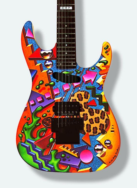 245 best guitar painted images on pinterest bass guitars custom guitars and electric guitars. Black Bedroom Furniture Sets. Home Design Ideas