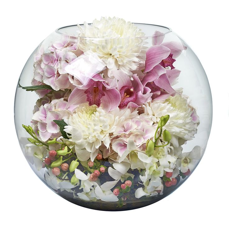 Bloom'd extra large fishbowl
