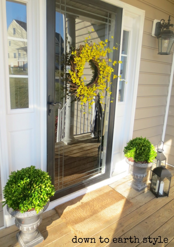 1000 Ideas About Painted Storm Door On Pinterest Storm