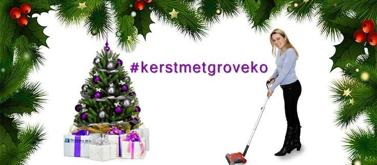 Kerst met Groveko. Een leuke eindejaar actie voor al onze volgers op Facebook en Twitter. Check it out!