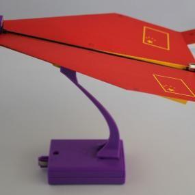 Aeroplano di carta elettrico Flydreams