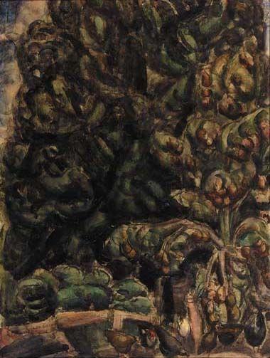 Leo Gestel, The orchard of farmhouse De Eenhoorn