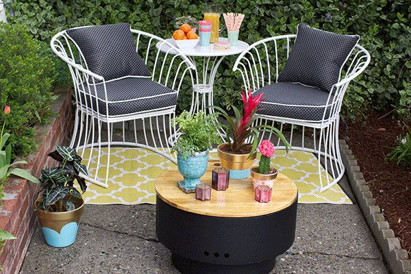 small patio decorating ideas for renters and everyone