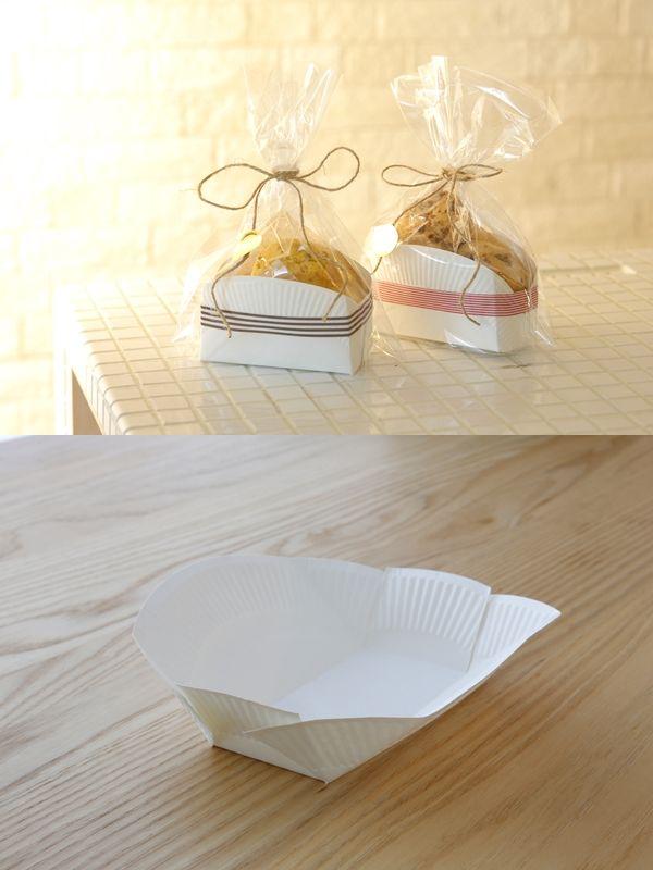 紙皿で作る小物入れ
