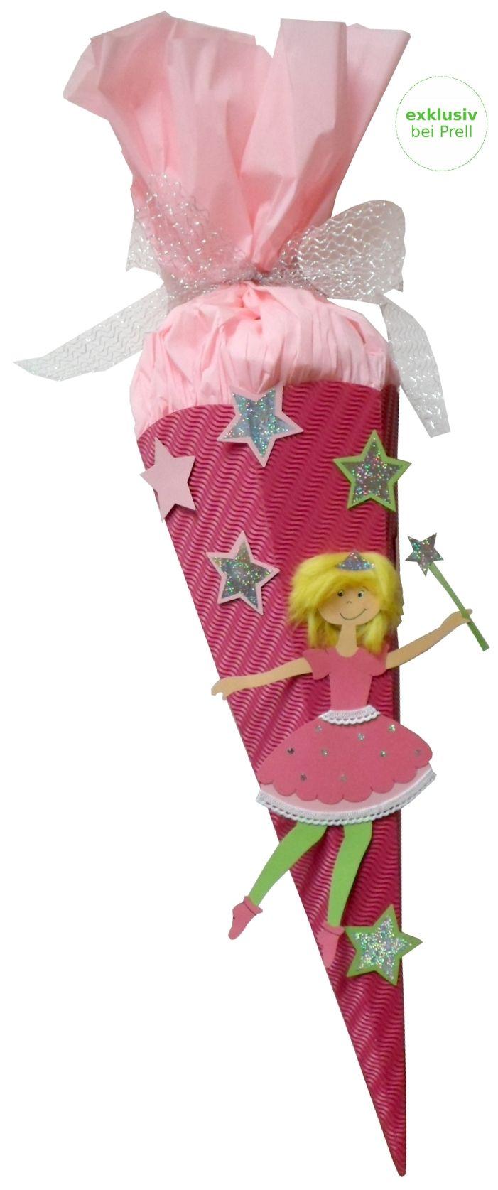 Mädchen Schultüte Fee rosa inkl. Schulstarterpaket finden Sie unter http://www.prell-versand.de/Basteltechniken/Bastelmaterial/Schultueten/Schultueten-nur-bei-Prell/Schultuete-Bastelset-Kleine-Fee-inkl--Schulstarterpaket-GRATIS.html