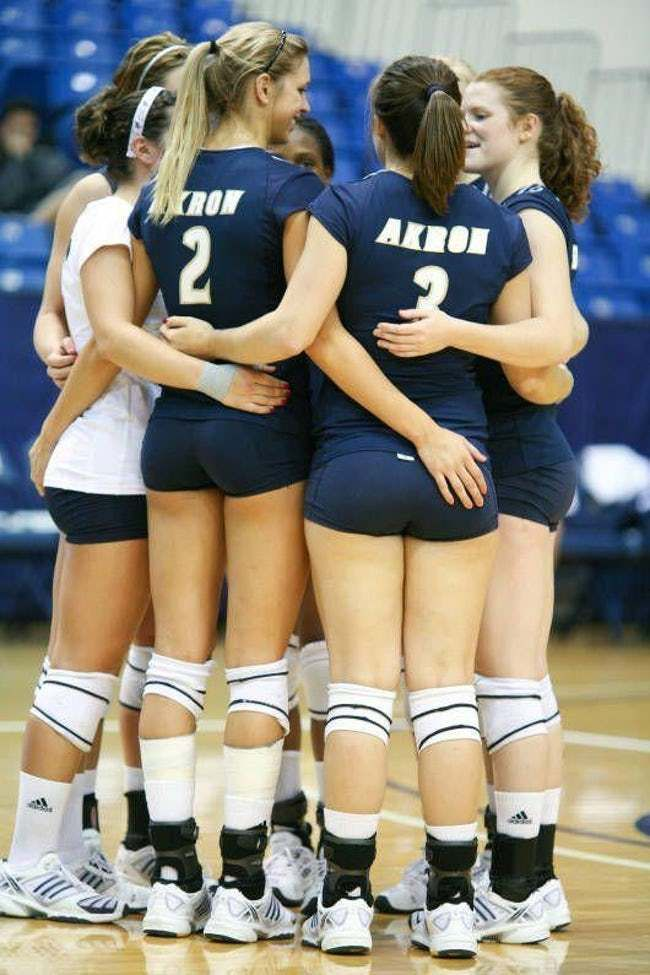 Tall one is listed (or ranked) 33 on the list The Hottest Volleyball Butts