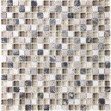 5/8 X 5/8 Portabella Glass Blend Mosaics Home Depot Canada