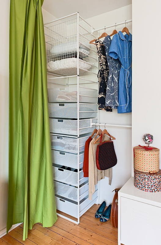 I Like This Idea For Off Season Clothes In The Basement, Love The  Organization And