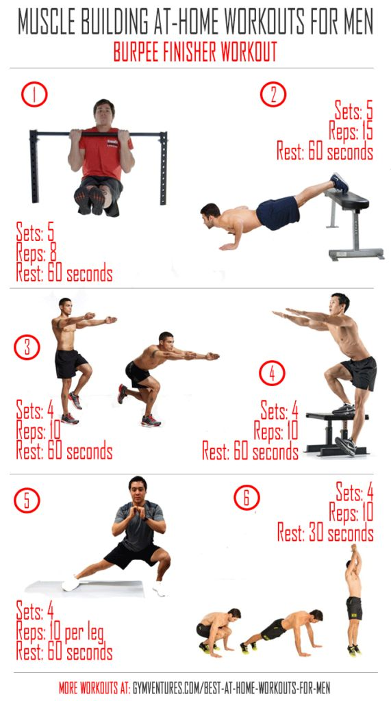 At Home-Workouts-for-Men---Burpee-Finisher-Workout