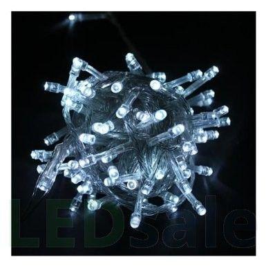 10 Meter LED Jouluvalot - Viileä Valkea