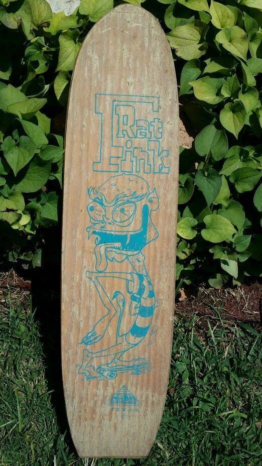 Vintage Nash Rat Fink Skateboard Surfboard Ed Big Daddy Roth 1960s