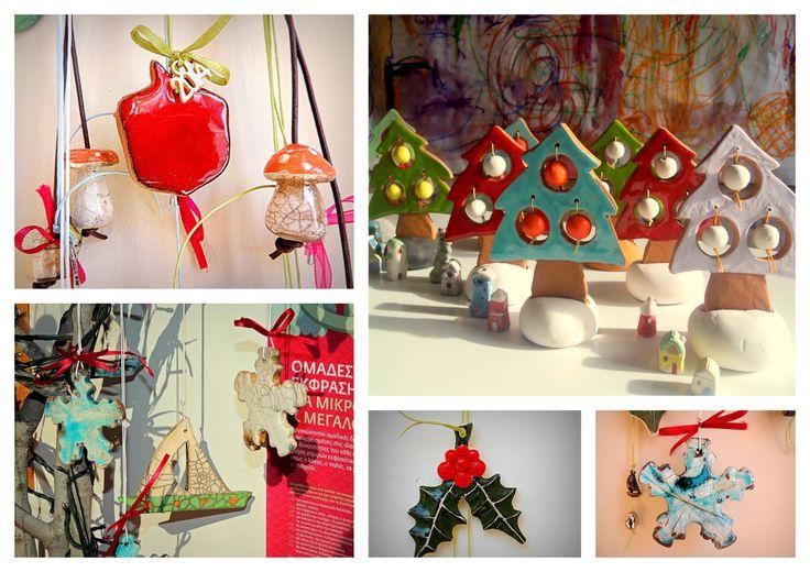 Christmas Handmade Ceramics