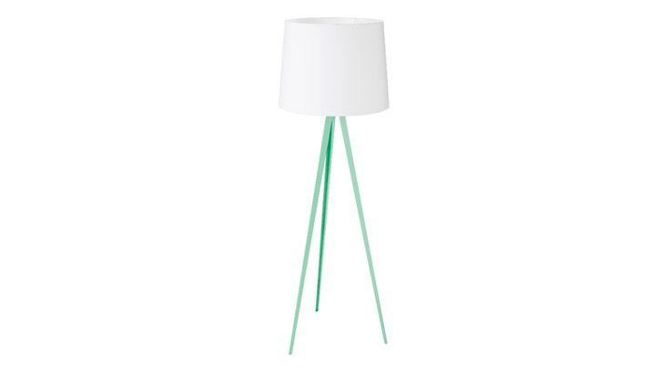 Oslo Floor Lamp - Mint Green | Domayne