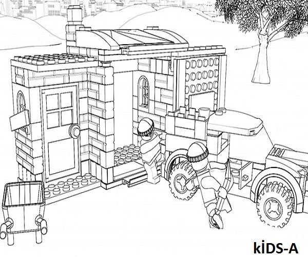 LEGO City kostenlos ausmalbilder | Ausmalbilder ...