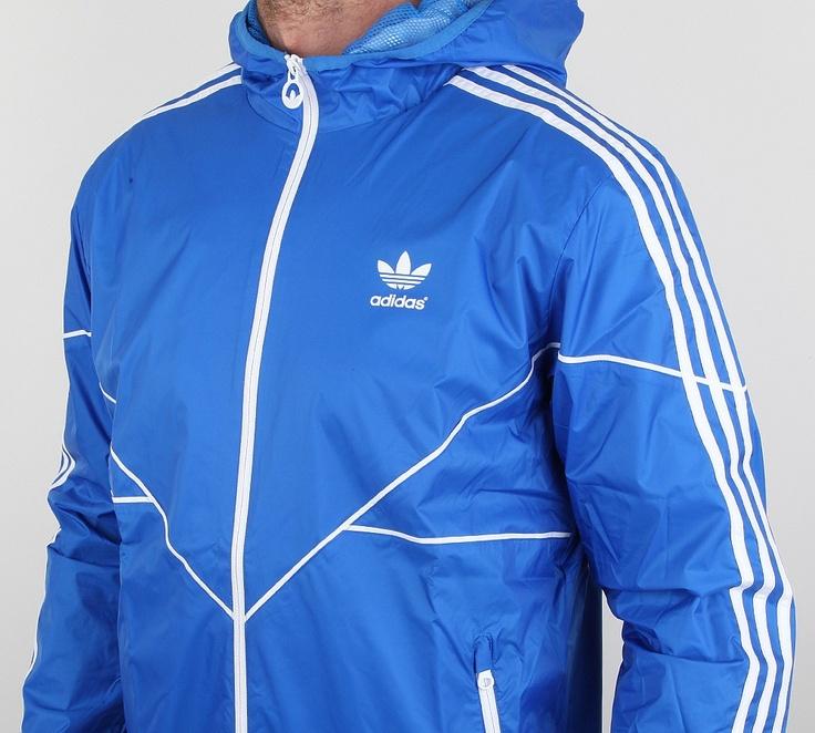 blue adidas originals jacket