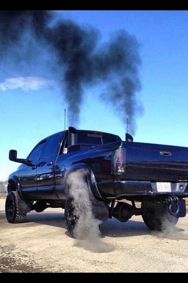 Cummins Turbo Diesel >> Stacks rolling coal | Diesel trucks, Diesel cars, Dodge trucks