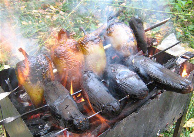 Шашлык из овощей по армянски