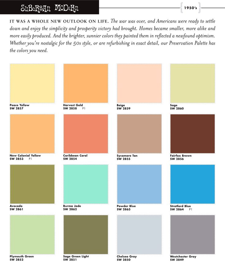 17 best 1950 39 s colour schemes images on pinterest color. Black Bedroom Furniture Sets. Home Design Ideas