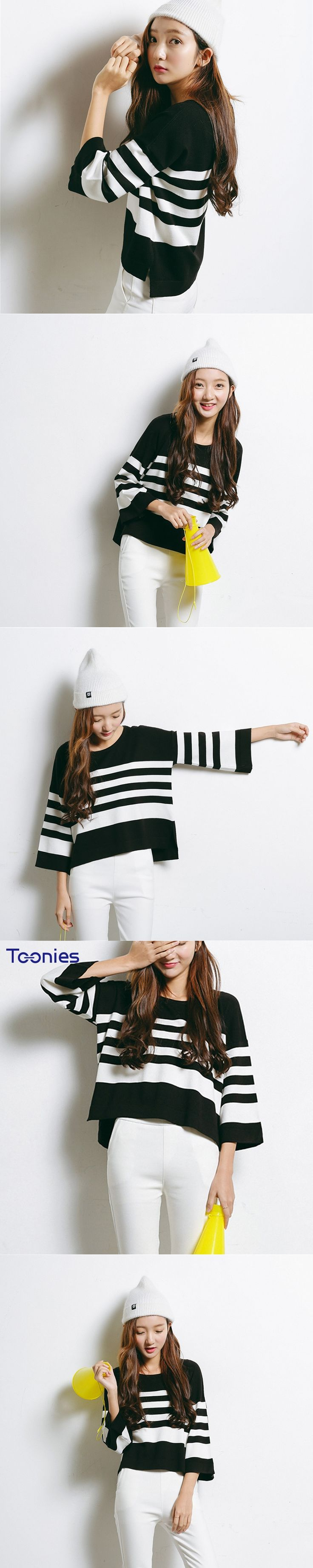 Sueter Mujer New 2017 Autumn Fashion Pullover Sweater Women Striped Sweaters Woman Loose Female Clothes Knit Pull Femme Feminino