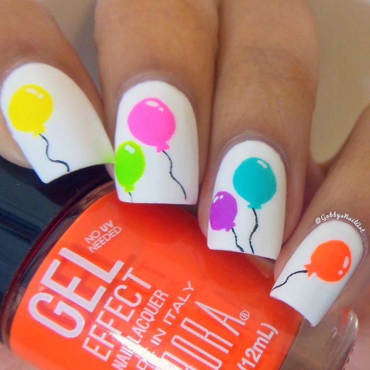 halloween-nail-art – 50 Cool Halloween Nail Art Ideas  ♥ ♥