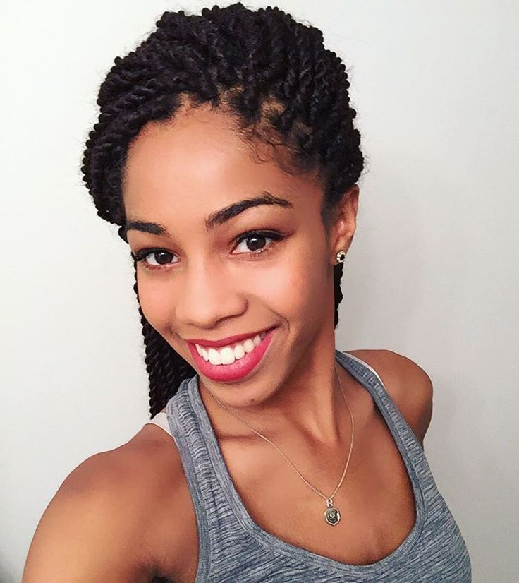 Protective Style With Senegalese Twists How To Style