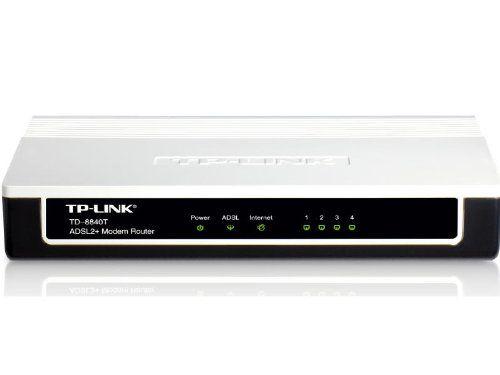 TP-LINK TD-8840T ADSL2+ Modem, 4 RJ45 Ports, Bridge Mode, NAT Router, Annex A, ADSL Splitter, 24Mbps TP-LINK http://smile.amazon.com/dp/B003CFATME/ref=cm_sw_r_pi_dp_2mQMwb1PQD73D