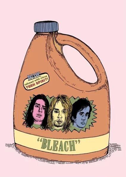 Nirvana Bleach☀️my fave album!☀️sunshinydre