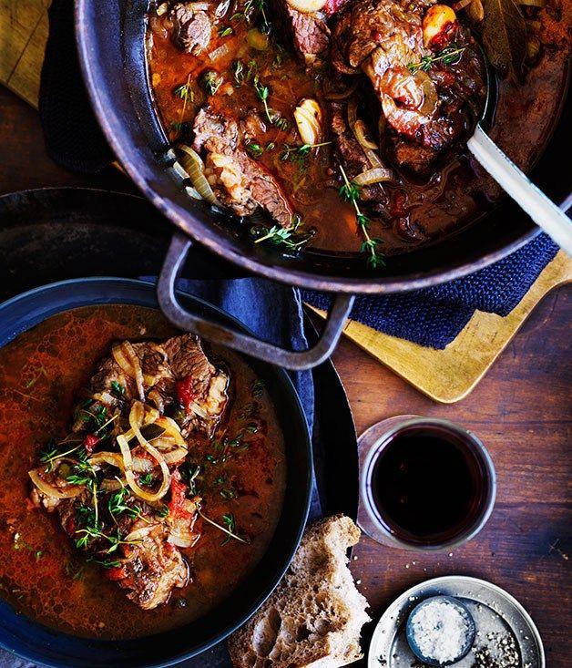 Broufade (Beef stew) recipe   French recipe   Gourmet Traveller
